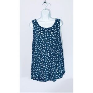 Old navy semi-sheer star studded tank top